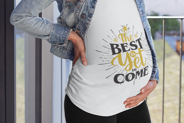 New Year Maternity Shirt Image
