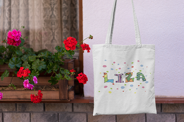 Child's Art Tote Bag   Teaser