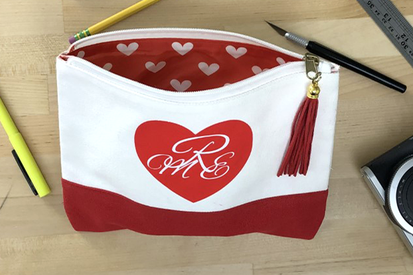 Heart Monogram Clutch  Image