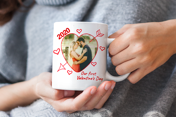 Our First Valentine's Day Mug Image
