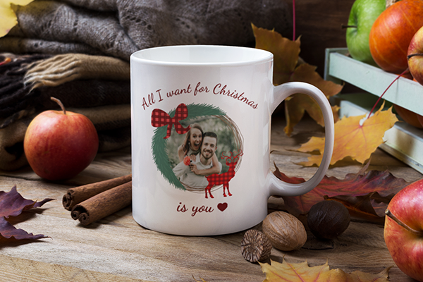 Christmas Photo Mug Image
