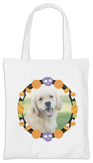 Furry Friend Halloween Tote  Thumbnail