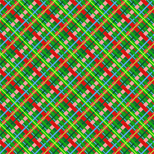 Christmas Plaid by SparkleBerry for Sawgrass