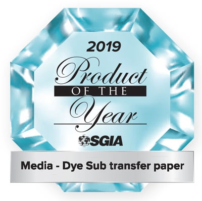 TruePix CLASSIC Paper won 2019 Product of the Year for SGIA.